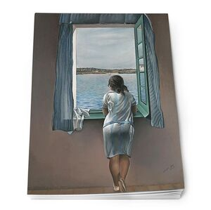 NOTEPAD A5 DALÍ - GIRL AT THE WINDOW
