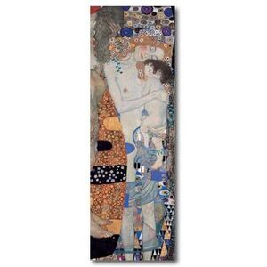 BOOKMARK MAGNETIC KLIMT - THREE AGES OF WOMAN