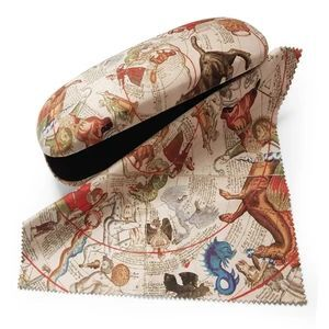 GLASSES CASE + CLOTH CELESTIAL MAPS - A PAINTED IMAGE